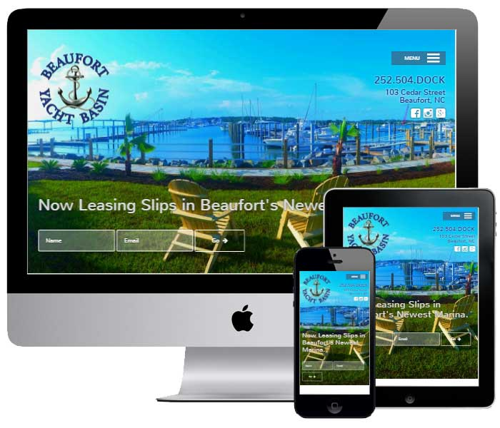 Beaufort Web Design Project