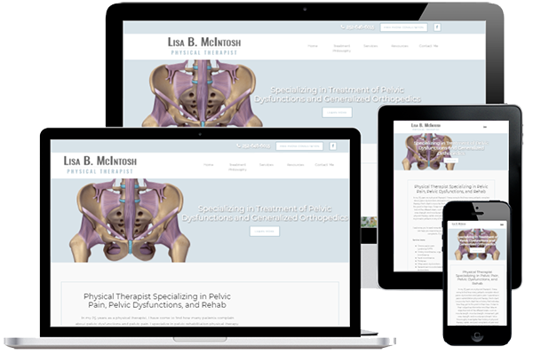 Physical Therapist Web Design and Development
