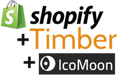 Adding More Font Icons to Shopify's Timber Framework | Channel